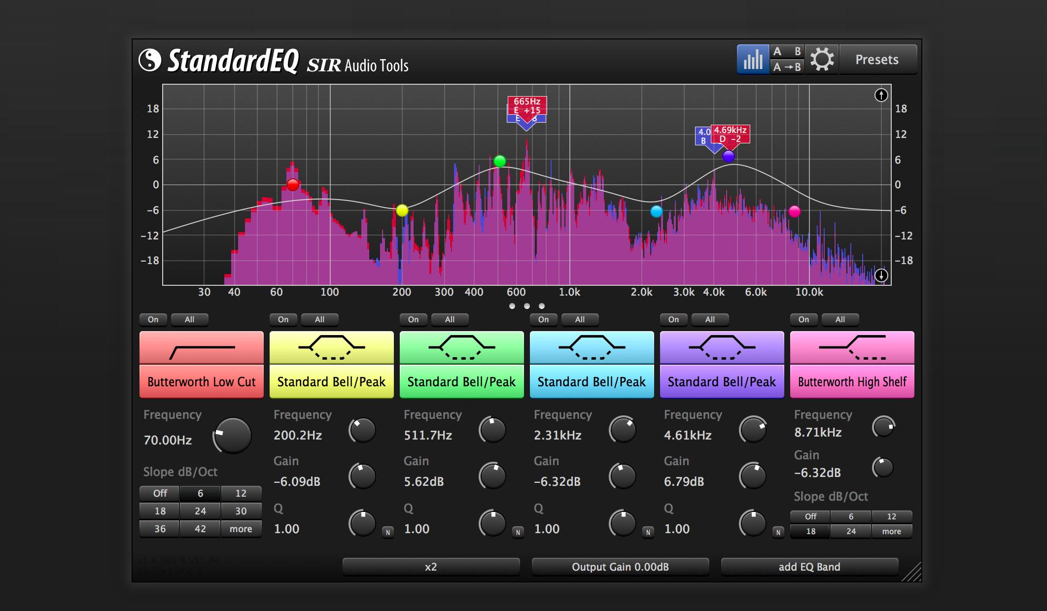 StandardEQ | Details | SIR Audio Tools