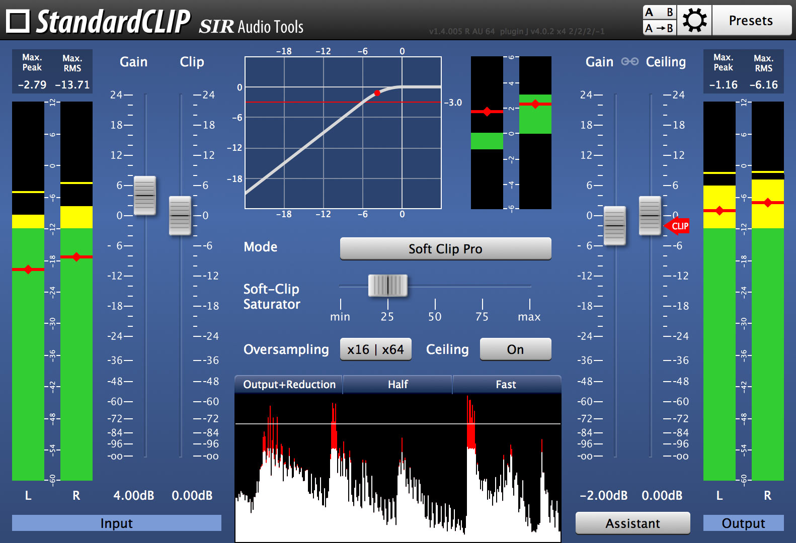 StandardCLIP | Details | SIR Audio Tools
