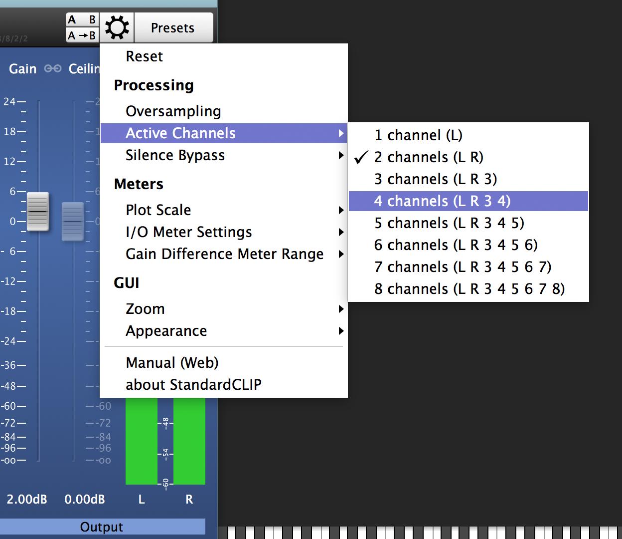 StandardCLIP | Manual | SIR Audio Tools