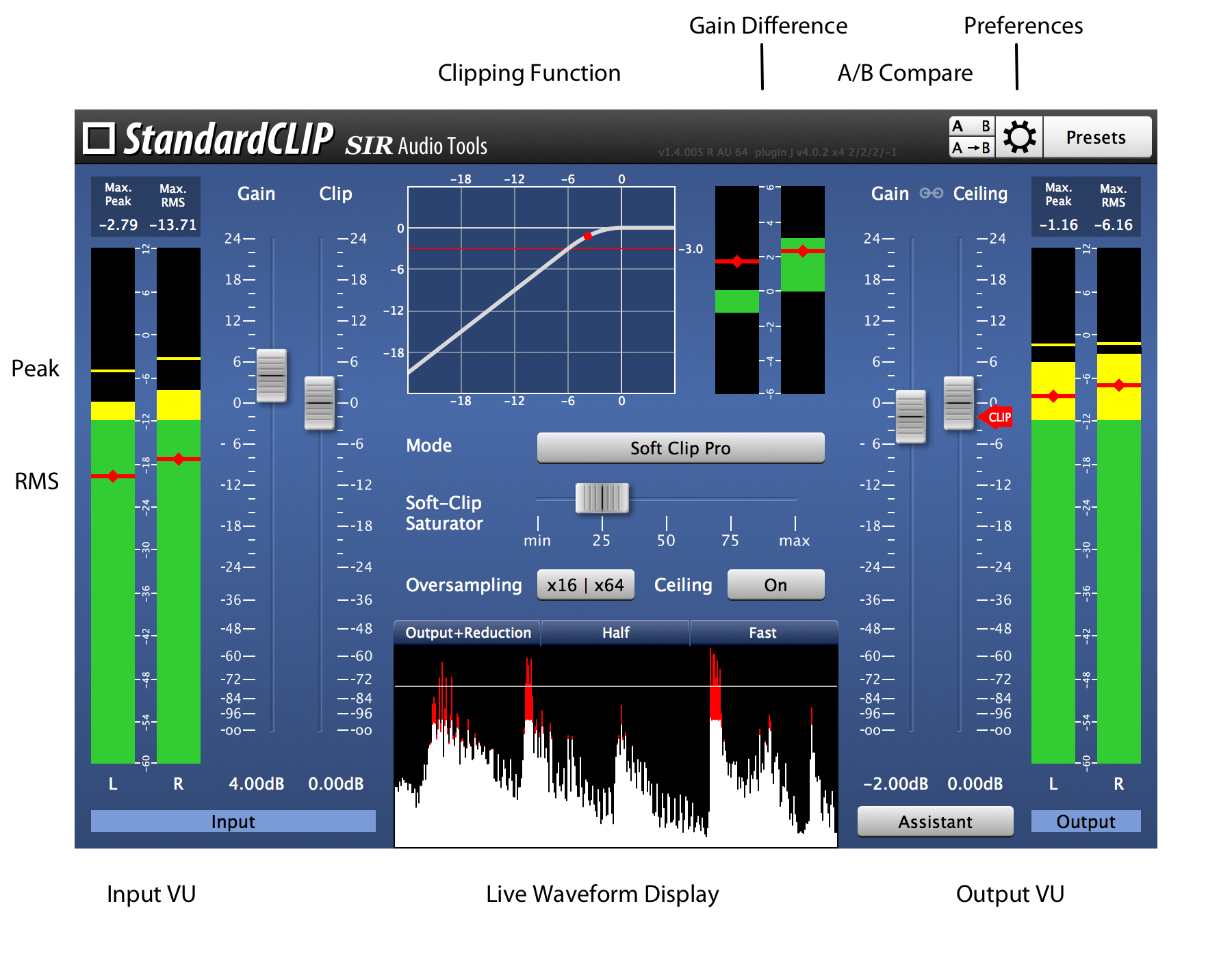 StandardCLIP | Manual | SIR Audio Tools