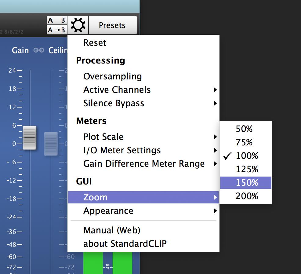 StandardCLIP   Manual   SIR Audio Tools